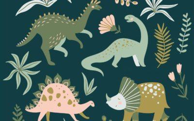 Aménager une chambre d'enfants dinosaures : quelles astuces ?