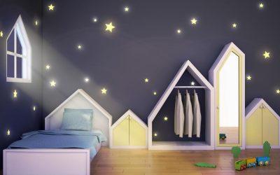 L'éclairage LED, idéal pour la chambre de mes enfants